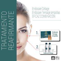 Hoy te proponemos nuestro tratamiento reafirmante Endocare Cellage y Endocare Tensage Ampollas. Ciencia de precisión para actuar a todos los niveles en los que se produce el envejecimiento.