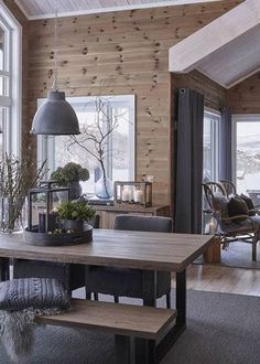 scandinavian cabin in the woods wood paneled modern chalet log home woods modern and cabin scandinavian wood cabins Chalet Interior, Interior Design, Modern Cabin Interior, Brown Interior, Cabin Interiors, Wood Interiors, Modern Interiors, Ideas Cabaña, Room Ideas
