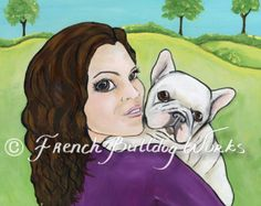 French Bulldog Bouledogue Francais Art Print by frenchbulldogworks