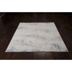 Nourison Somerset Silver Blue Rug (5'3 x 7'5)