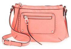 Emperia Faux Leather Crossbody Bag (Juniors)