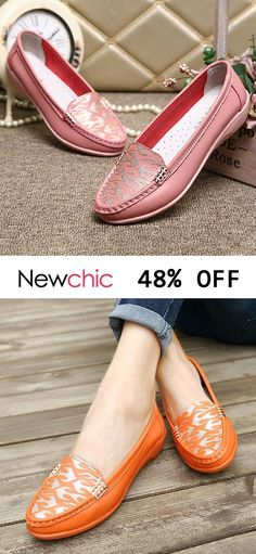 c3fcfd197f4 Women Wearable Soft Leather Slip On Flats is cheap and comfortable. There  are other cheap women flats and loafers online.
