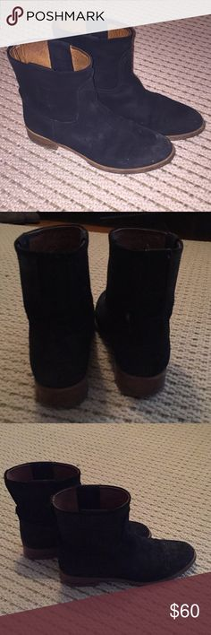 Rag and Bone Black Booties Rag and Bone Black Booties Great boots  Show wear but still in great shape  Look at photos for wear rag & bone Shoes Ankle Boots & Booties