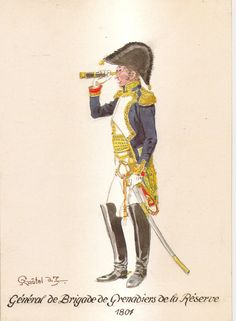 Empire, Etat Major, Soldier Costume, Napoleonic Wars, Costumes, Baseball Cards, History, Weapons, Hats