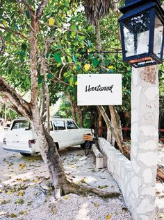 Food worth travelog for; Hartwood, Tulum