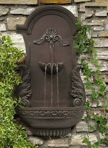 Wall fountain #WallFountain #Garden
