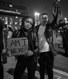 Black Lives Matter protest San Francisco.
