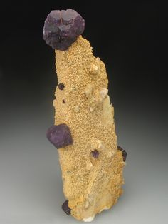 FLUORITE on FELDSPAR Minerals from Trolvis Quarry, Mabe, Cornwall, England, Europe at Crystal Classics