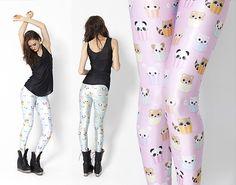 Darling Stewie » Geek + Kawaii + Nonsense » TWIC: Black Milk Leggings and a new Holley Tea Time Print