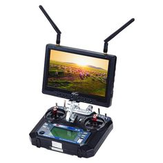 """Flysight 7 inch RC801 Black Pearl monitor with built in Diversity receiver#monitor7inchlcd #monitor7lcdhdmi #monitorbuilt-inbattery #monitorlcd7hd #rcplanefpvmonitor #receiverlcdmonitor #receivermonitor7"""" #wirelessavreceiverhdmi"""
