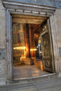 Loooook at the doors <3 oh my god. Hagia Sophia- Istanbul