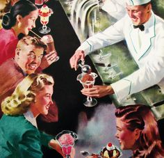 http://www.vintageposterworks.com/products/1950s-retro-antique-ice-cream-soda-fountain-vintage-poster