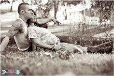 I love this pose. Maternity session. via Eva Marie Photography