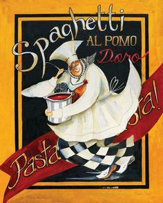 Spaghetti Chef Lámina