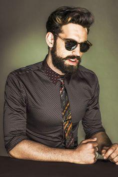 Ilias Petrakis - #Menswear #beard