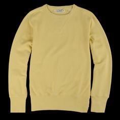 Levi's Vintage Clothing - Bay Meadows Sweatshirt in Faded Banana