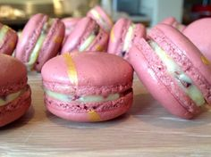Orange & cranberry macarons - with Macaron Tips!