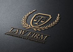 Law Firm by Super Pig Shop on Creative Market - Lawyer Lawyer Logo, Lawyer Business Card, Business Brochure, Business Card Logo, Business Card Design, Black Business Card, Logos, Logo Branding, Law Firm Logo