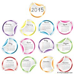 Top 10 Calendar Templates For 2015