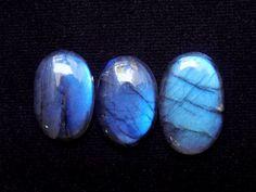 Natural Blue Spectrolite, Good AAA Quality Labradorite Cabochon, Ring Pendant Bracelet Jewelry Making Labra Cabachon Gemstone Lot