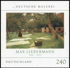 Briefmarke: Max Liebermann (Deutschland (BRD)) (German Painting) Mi:DE 2979,Sg:DE 3821
