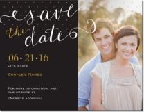 lettering save the date Invitations & Announcements