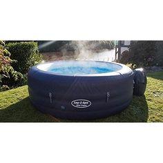 Inflatable Hot Tub Lay Z Spa Portable Person Led Light Bubble Jet Jacuzzi Spa Portable, Led Lights For Sale, Saint Tropez, Jacuzzi, Tub, Bubble, Outdoor Furniture, Best Deals, Bathtubs