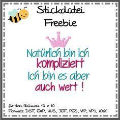 binimey Stickdatei Freebie ::: jeden Freitag für 5 Tage neu