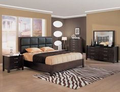 Awesome Interior Contemporary Bedroom Design With Brown Bedroom Decorating Ideas Gorgeous Brown Classic Bedroom Paint Ideas With Zebra Carpet And Classic Bedroom Furniture Ideas part of Modern Bedroom Furniture on a Budget article which is categorized within Bedroom.