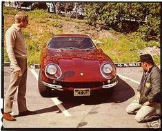 Ferrari 275 by Scaglietti 1967 Steve McQueen: Hollywood legend, racing driver, and car connoisseur extraordinaire. The Cooler Kin. Ferrari Daytona, Ferrari Ff, Ferrari Mondial, Steve Mcqueen Cars, Steeve Mac Queen, Dream Cars, 1968 Dodge Charger, Under The Hammer, Ferrari California
