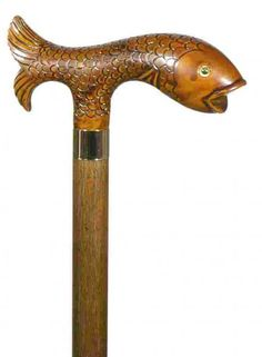 Fish Handle Walking Stick 1614  http://www.saddler.co.uk