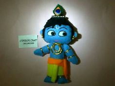 Krishna doll Handmade felt Price sms / wa 08113401969 BB pin 754101dc ( christine)