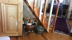Evimdeki merdiven altı çok eski hatiralarimiz