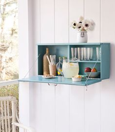 Upcycled Drink Station