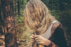 How to get healthy shiny hair