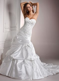 Maggie Sottero Casey...I wish I liked this more.