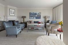 Living Room Anza Vista renovation Brian Dittmar Design, Inc. San Francisco CA Photo by David Duncan Livingston