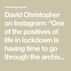 """David Christopher on Instagram: """"One of the positives of life in lockdown is having time to go through the archives and rediscover images from our past weddings, such as…"""" Mirror Mirror, Past, Brides, Archive, To Go, David, Positivity, Weddings, Life"""