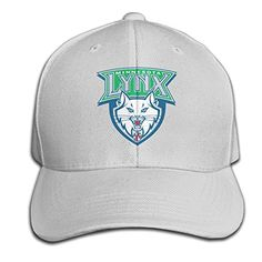 Unisex Minnesota Lynx Durable 100% Cotton Adjustable Baseball Cap Ash -- Awesome products selected by Anna Churchill