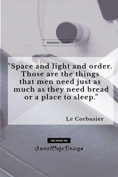 Monday Quotes: Le Corbusier