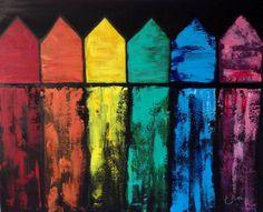 """Saatchi Art Artist Eliane Ellie; Painting, """"Beach Hut in Bournemouth """" #art"""