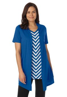 cb6425d97dab1 This generous-fit casual classic will be one of your favorite plus size  tunic tops