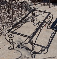112 Best Wrought Iron Tables Images Iron Furniture Iron Table