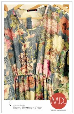 De flor em flor. Rua Joaquim Gomes Pinto / 9 / Cambuí / Campinas / SP ter - sex > 10:00 - 18:00 / sab > 10:00 - 14:00 #themixbazar #estudiocriativo #loja #bazar #upcycling #design #moda #vestido #flores #amores #cores #verão #cambui