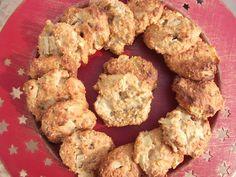 DIME QUE COMES : BIZCOGALLETAS DE AVENA, YOGUR Y MANZANA Cupcake Cookies, Cupcakes, Cauliflower, Sweet Treats, Muffin, Yummy Food, Snacks, Baking, Vegetables