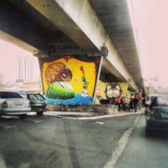 1º Museu Aberto de Arte Urbana. São Paulo - SP.
