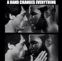 Cuando una manito marca una gran diferencia...