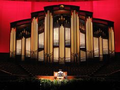 Play the pipe organ.  This one would be fun to play!  Salt Lake Conference Center Organ.  Wow.