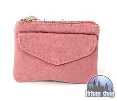 Dětská peněženka z konopí růžová | Konopná peněženka | URBANSHOP