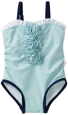 Floatimini Baby-Girls Infant Sublime Sky Bathing Suit, Sky Blue, 6-12 Months
